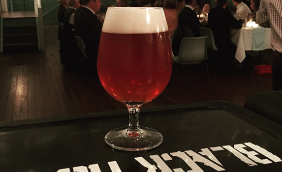 The Pink Mist Raspberry Saison surprised a few traditional beer drinkers!