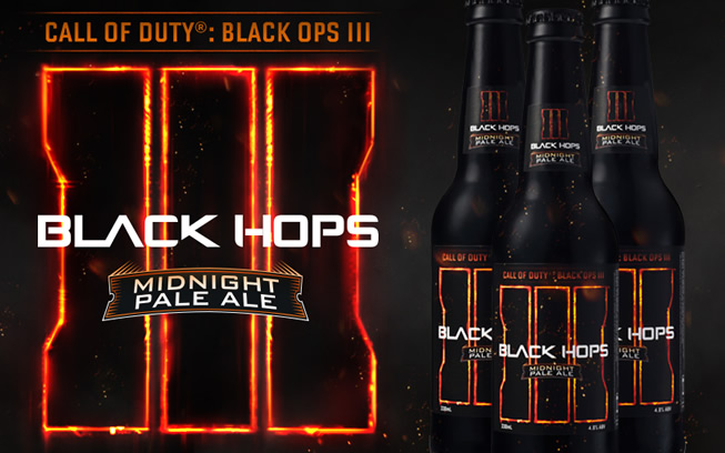 World's first Call of Duty® Craft Beer Created by Black Hops