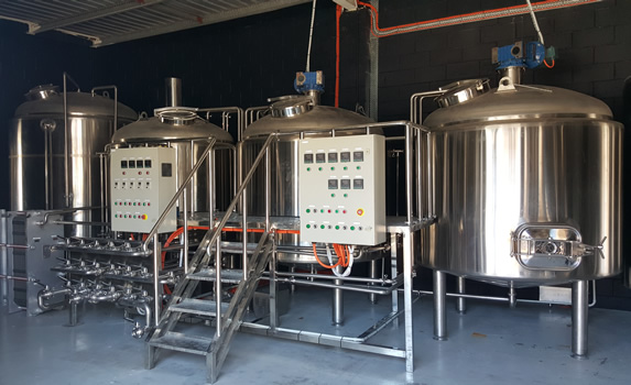 From China to Burleigh, Craft Brewery Equipment Delivery